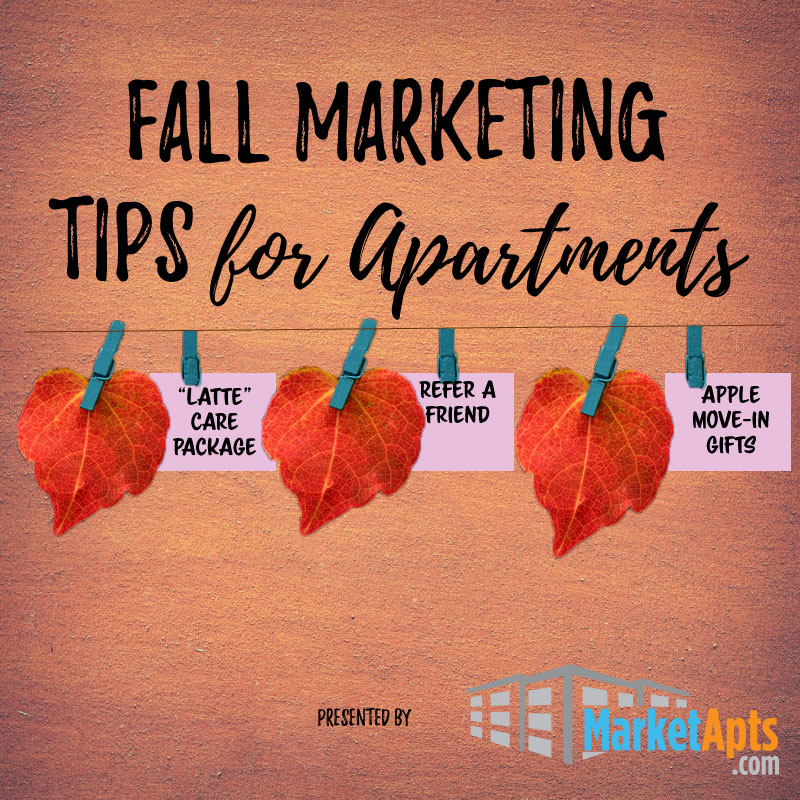 Marketing Apartment Tips For This Fall